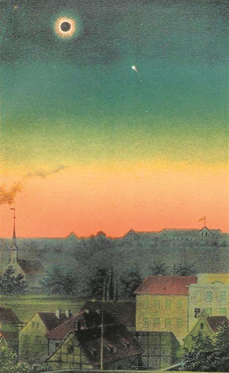 Zaćmienie Słońca nad Biskupią Górką w 1851 r.