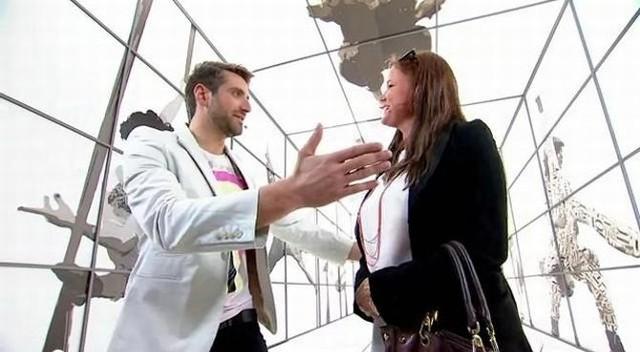 Maciej Dowbor nie zorientował się, że rozmawia z sobowtórem znanej tenisistki