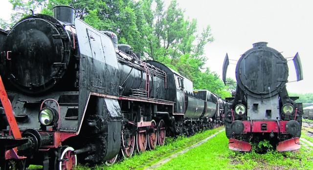 Na razie parowozy stoją w skansenie w Chabówce. Mogłyby się jednak stać kolejną atrakcją turystyczną Małopolski