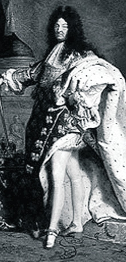 XVIII w. Król Francji Ludwik XIV często zakładał buty na wysokim obcasie