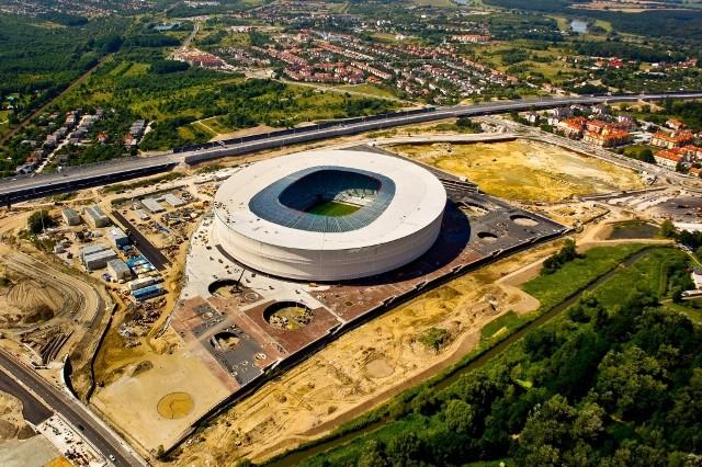 Wciąż trwają spory o działki, na których stanął wrocławski Stadion Miejski