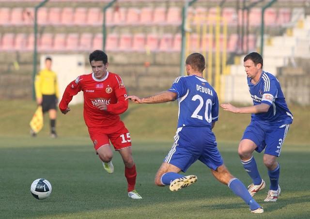 Stępiński zadebiutował w pierwszej drużynie Widzewa