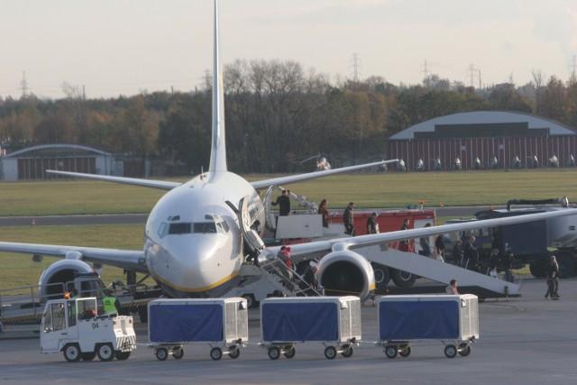 Łódzkie lotnisko w ciągu dwóch dni obsłużyło 3125 podróżnych