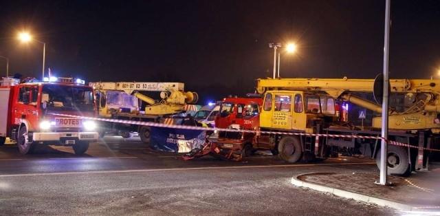 W wypadku na ulicy Hlonda zginęła jedna osoba