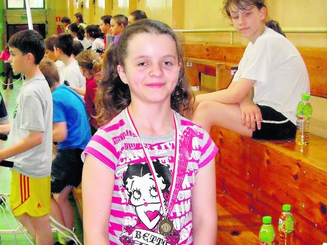 Paulinka Smoleń wreszcie mogła wziąć udział w szkolnych zawodach