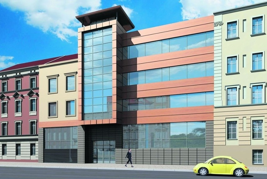 Efektowny biurowiec ma się wtopić w starą architekturę centrum Legnicy
