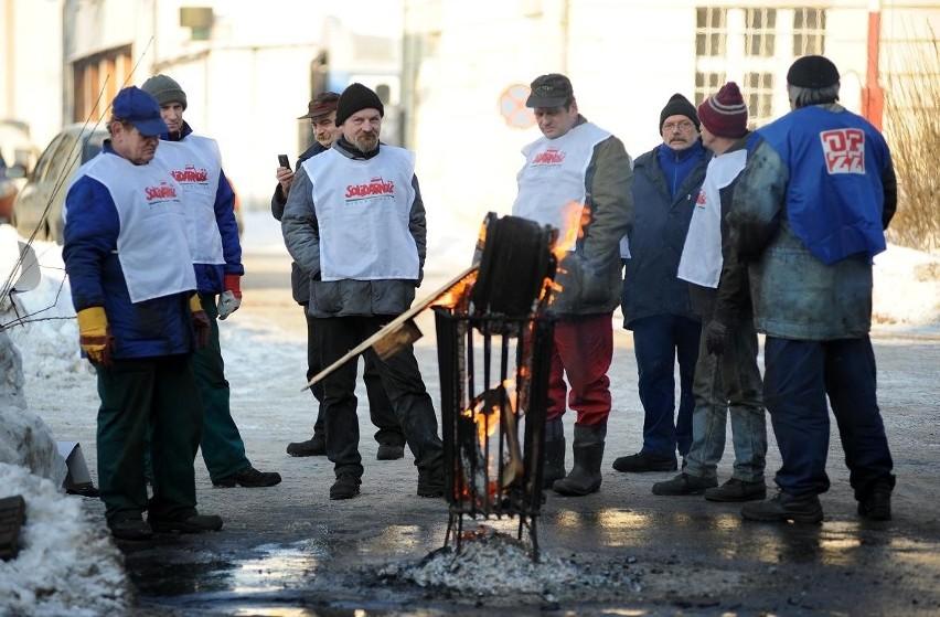 Równo dwa lata temu pracownicy ZNTK również protestowali