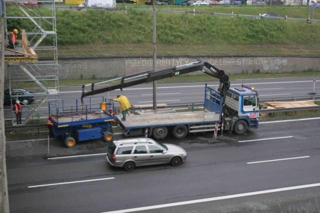 W piątek drogowcy rozpoczęli prace na odcinku Sosnowiec