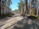 Dwukilometrowy odcinek trasy rowerowej  w leśnictwie Ulinia gotowy tydzień przed terminem