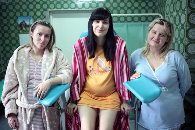 Alina, Marzena i Aneta czekają no swoje pociechy