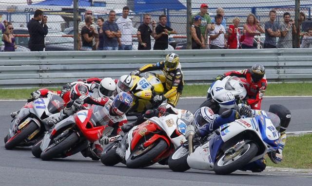 Ponad 200 zawodników wzięło udział w 9. rundzie Wyścigowych Motocyklowych Mistrzostwach Alpe Adria UEM w Poznaniu