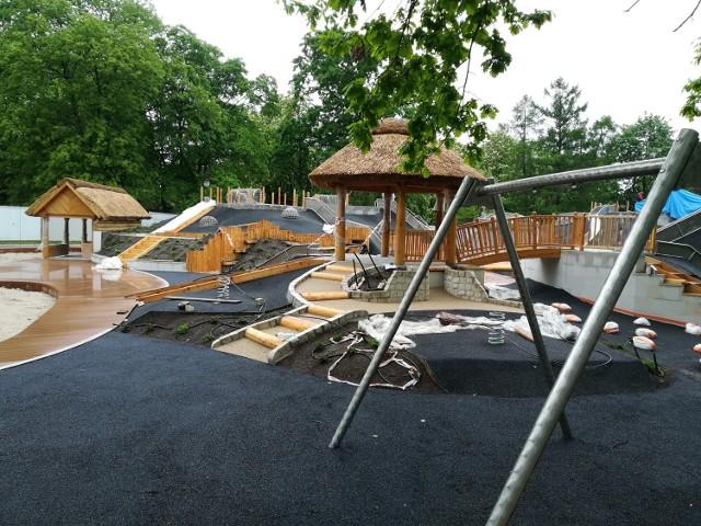 Plac Zabaw W Parku Ujazdowskim Inwestycja Z Dwuletnim