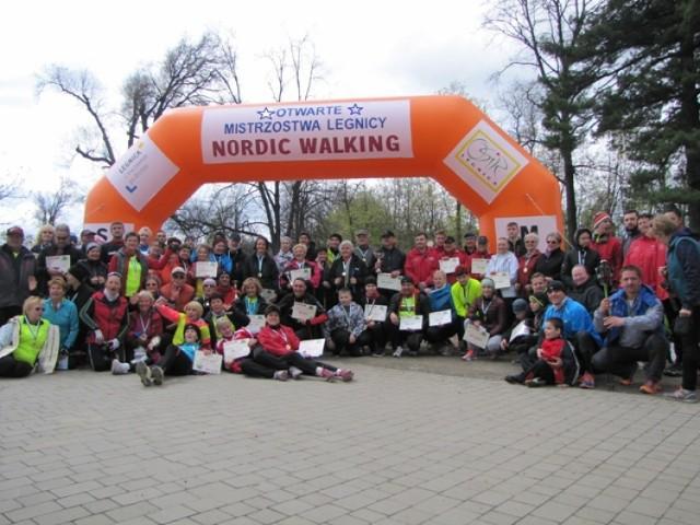 OSiR Legnica - Mistrzostwa Legnicy w Nordic Walking