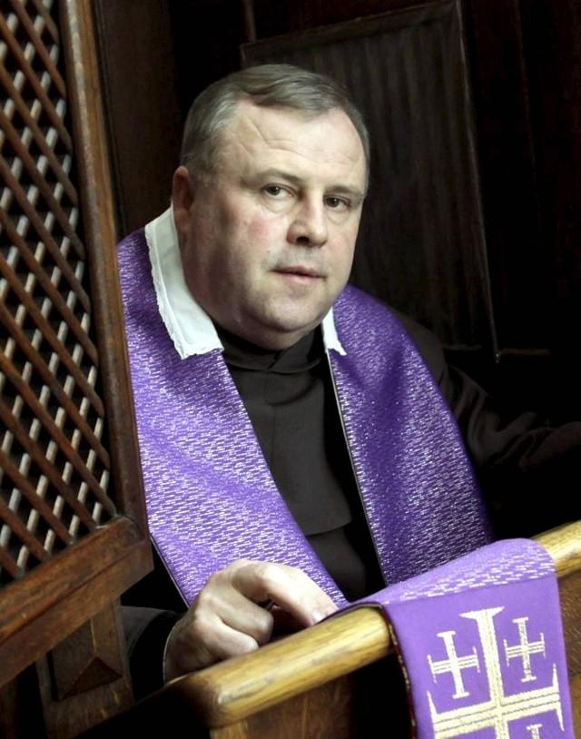 O. Szczepan T. Praśkiewicz OCD przeor klasztoru Karmelitów Bosych w Lublinie