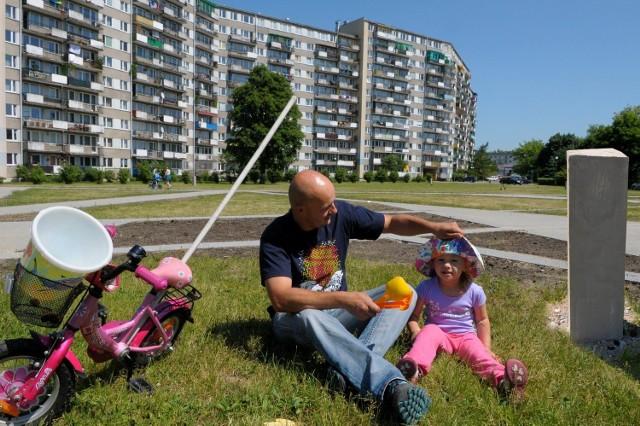 Z możliwości zabawy w piknikowych zielonych strefach najchętniej korzystają rodziny z dziećmi