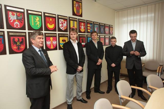 Studenci PŁ z wizytą w Urzędzie Wojewódzkim