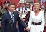 Para prezydencka odsłoniła miniaturę monumentu Jana III Sobieskiego