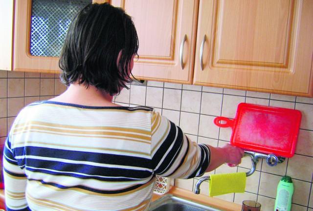 Beata Klatka nie mogła się dowiedzieć, co jest przyczyną awarii i kiedy z kranu popłynie woda