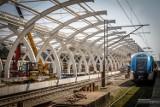 Remont dworca w Gliwicach. Zobacz nowe zdjęcia