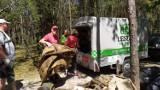 Leszy Bełchatów - Miłośnicy Czystych Lasów zaliczyli bardzo pracowitą niedzielę