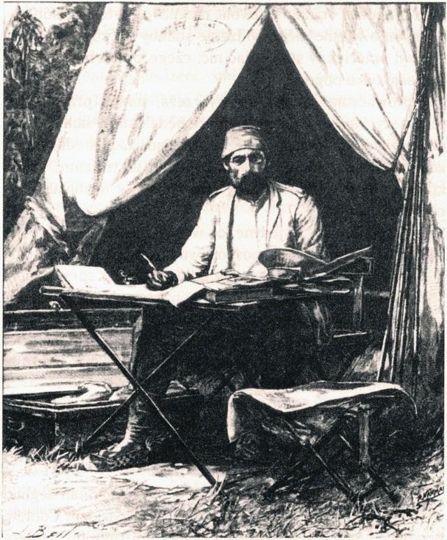 Emin Pasza był, przede wszystkim, geografem i etnografem
