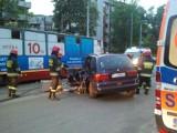 3 osoby ranne w wypadku na Kilińskiego [ZDJĘCIA]