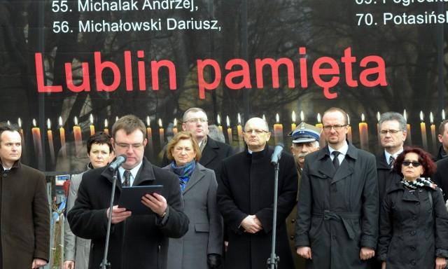 Lubelskie obchody rocznicy katastrofy smoleńskiej