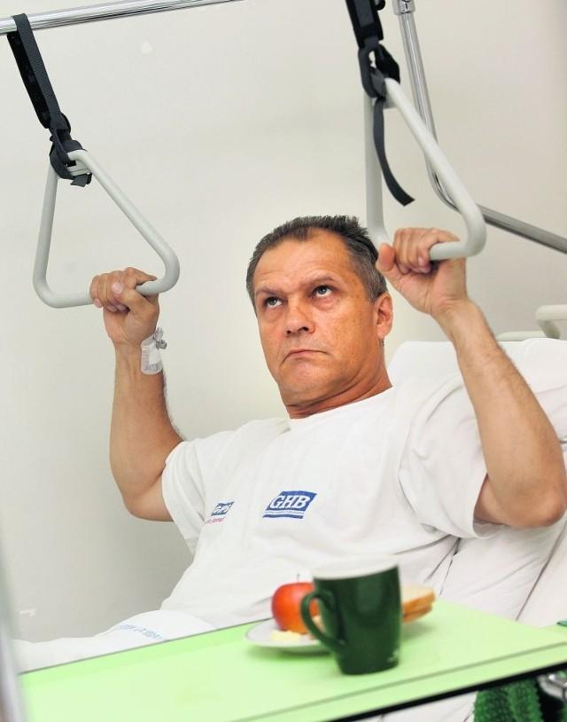 Ryszard Drozda czekał na endoprotezę w jednej kolejce, ale 3 lata