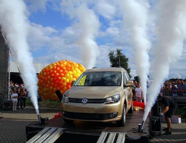 Festyn z okazji wyprodukowania milionowego egzemplarza Volkswagena Caddy