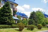 Osiedle Słowiki w Olkuszu na wiosnę nabrało uroku. Jest kolorowo i radośnie, jak przystało na miejsce nazywane osiedlem Smerfów [GALERIA]