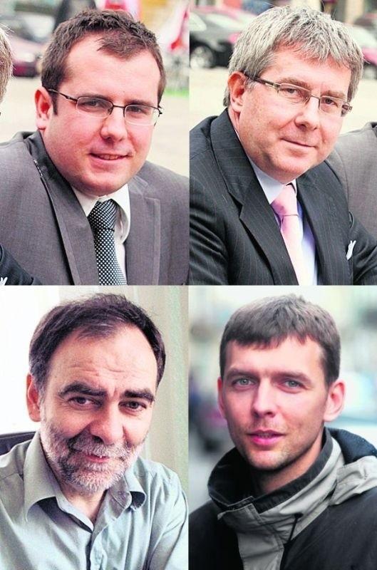 Ryszard Czarnecki już zaczął wspierać syna Przemysława. Bohdan Aniszczyk nie chciał, by syn Modest wystartował