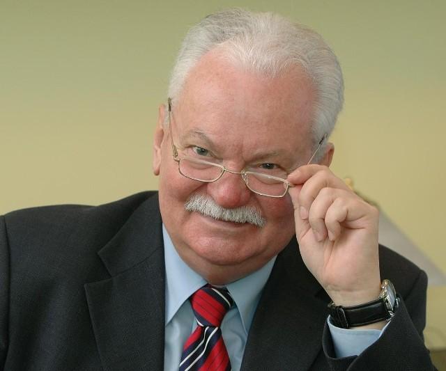 Profesor Lechosław Gapik.
