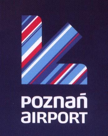 Nowe logo poznańskiego Lotniska