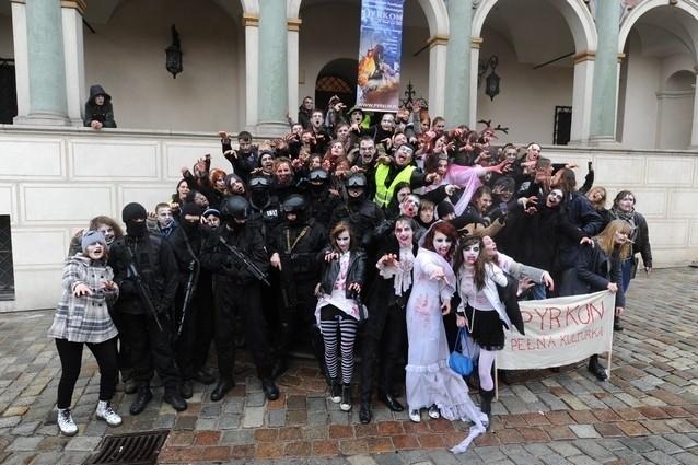 Marsz zombie na ulicach Poznania