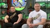Siłacz z Chlebowa, strongman Mateusz Kieliszkowski w Hejt Parku Kanału Sportowego opowiadał o treningu na wsi, diecie i przyszłości w MMA