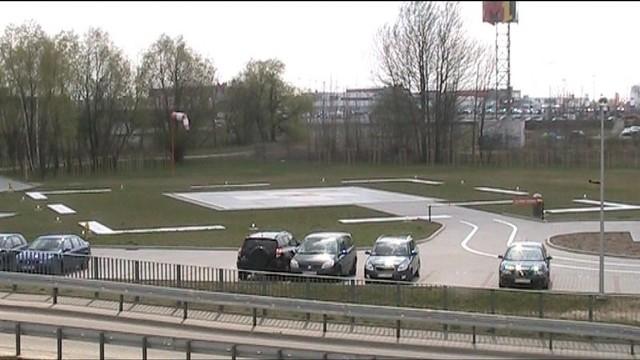 Lądowisko dla helikopterów medycznych przy szpitalu Strusia.