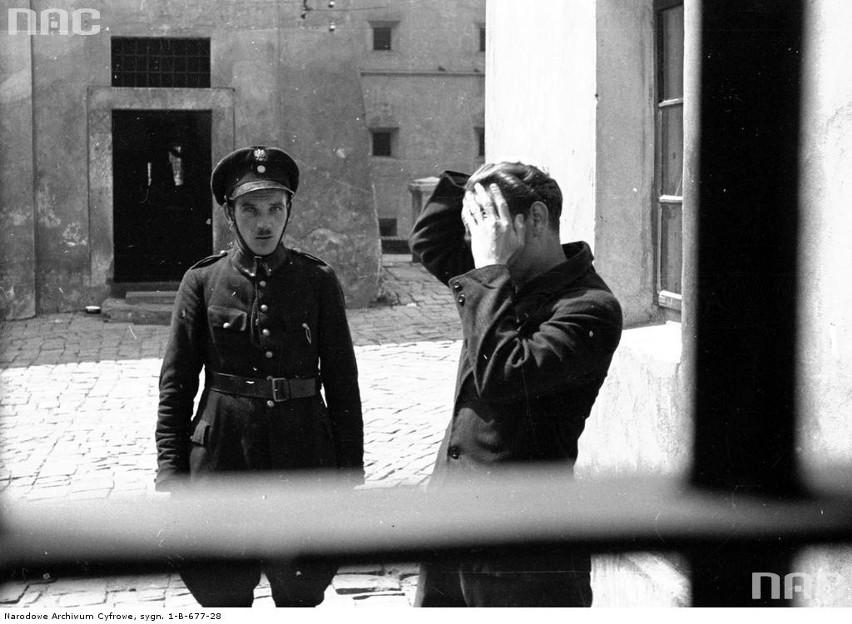 Więzienie św. Michała w Krakowie, 1933 rok....