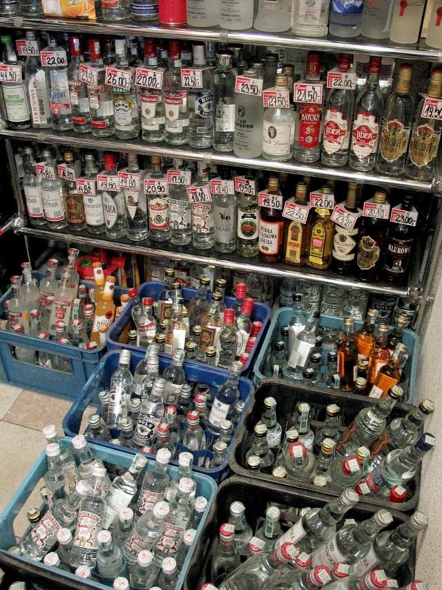 27-latek ukradł 20 butelek wódki. Zdjęcie ilustracyjne