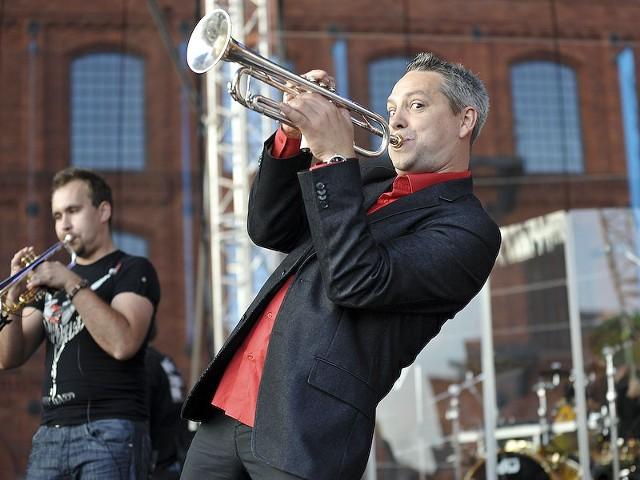 Samokhin Band na koncercie z okazji 80-lecia Radia  Łódź