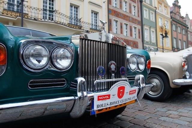 Bantleye i Rolls Royce'y na Starym Rynku w Poznaniu.