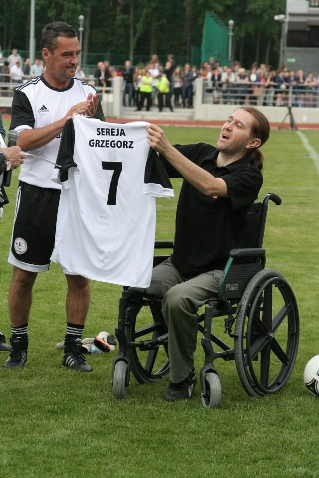 Puławy: Zagrali mecz charytatywny dla Grzegorza Sereja