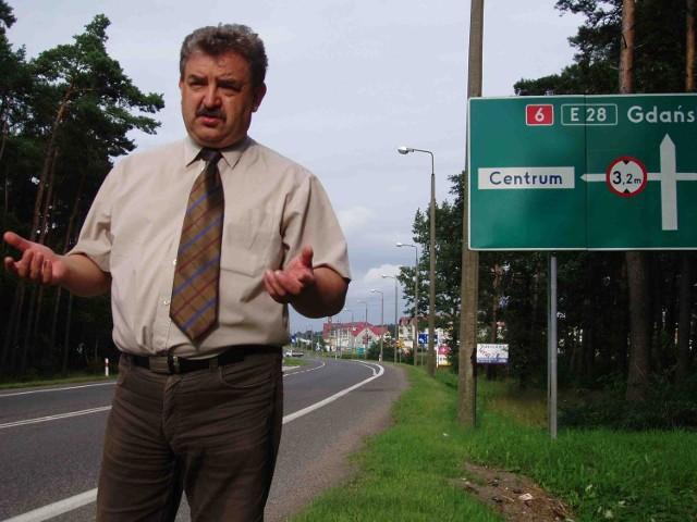 Kazimierz Kleina walczy jest silnie związany z Łebą