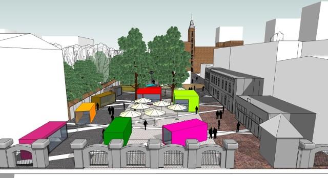 Wizualizacja: tak będzie wyglądać dawne Chinatown w przyszłości