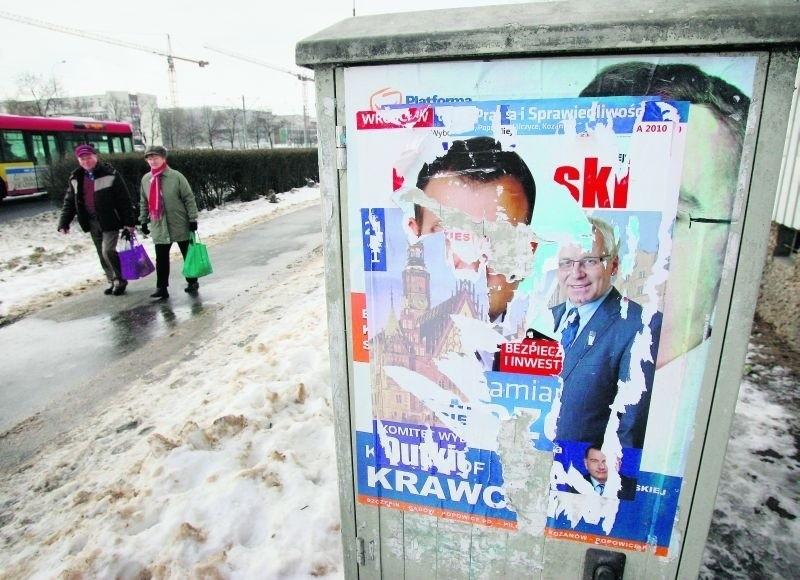 Kandydaci Nie Zapłacą Za Usuwanie Plakatów Wyborczych