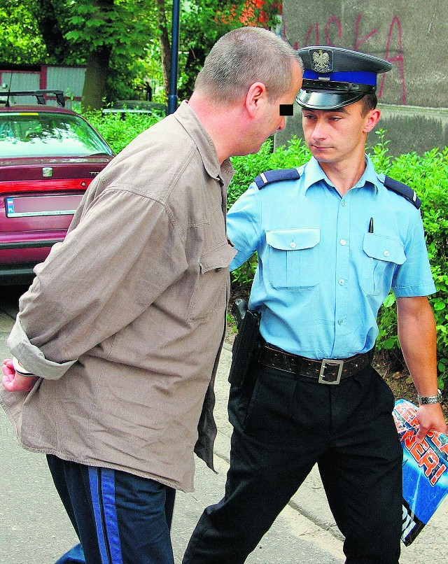 Oskarżony Grzegorz J. już odbywa karę 5 lat więzienia