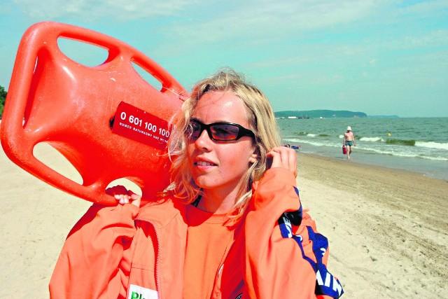 Łatwo dostać pracę ratownika, bo brakuje ich na plażach