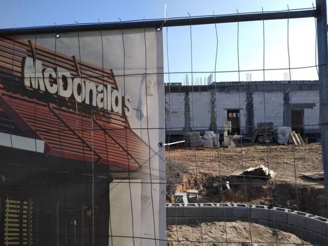 Za chwilę rusza budowa restauracji sieci McDonald's w Nowej Soli.