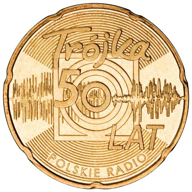 Okolicznościowa moneta z Radiową Trójką