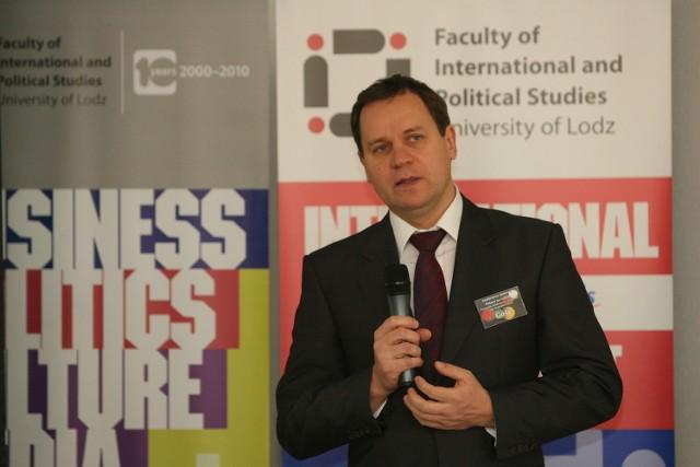 Waldemar Tomaszewski na Uniwersytecie Łódzkim
