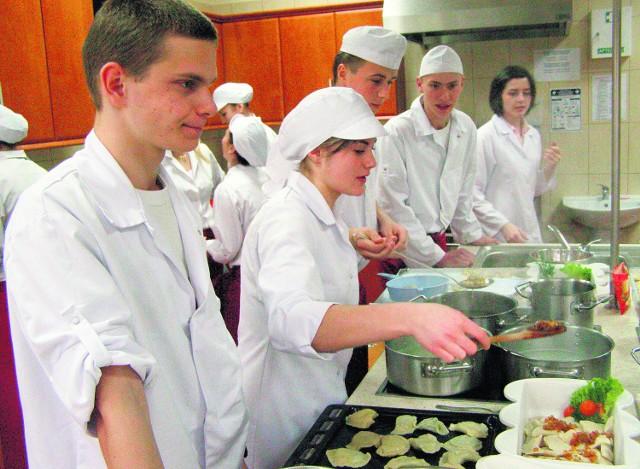 Z tych uczniów wyrosną świetni gastronomicy